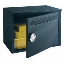 Large Capacity Parcel Post Box Black Parcel Keeper Pro First