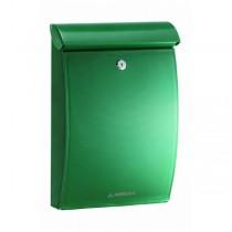 Plastic Green Post Box A4 Outdoor Wall Mounted Mininova E-5333