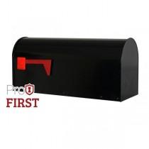 Black US Mailbox 630 Post Box