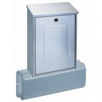 Top Loading Elegant Stainless Steel Post Box with Newspaper Holder Pro First 360