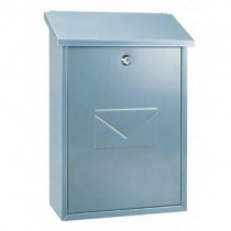Top Loading Silver Post Box Pro First 570 Mailbox