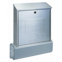 Modern Stainless Steel Post Box Pro First 531 Mailbox Set
