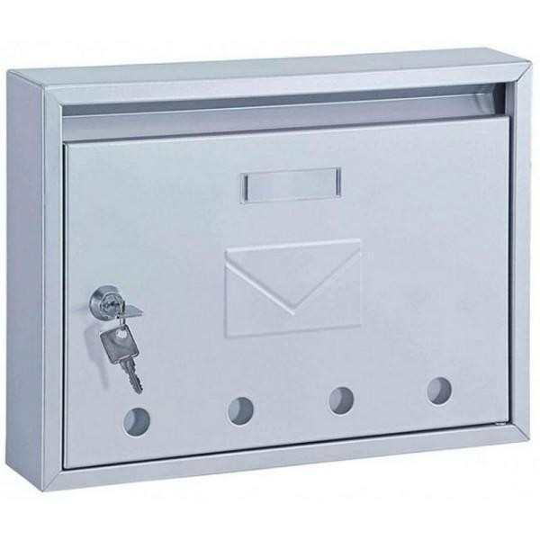 Classic Designer Stainless Steel Front Loading Post Box Pro First 100