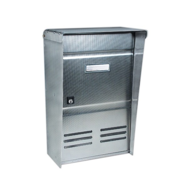 Postal Stainless Steel Wall Mounted / Fence Fixing Letterbox