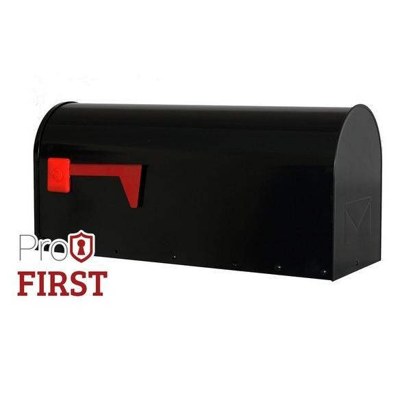 Black US Mailbox 630 Post Box