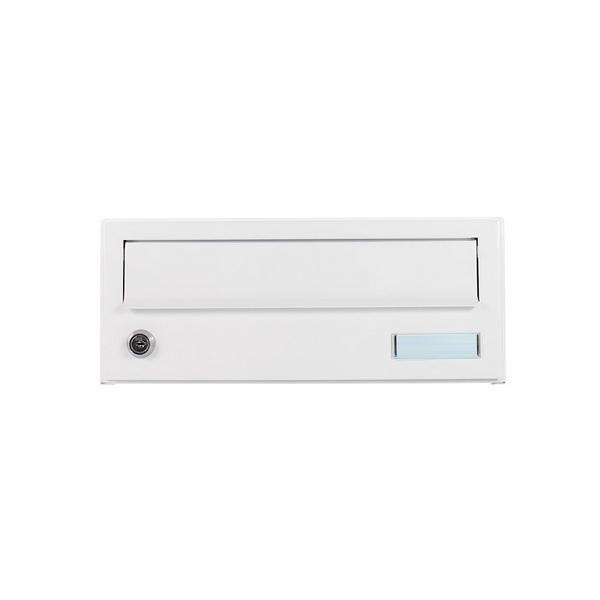 Custom Built White Apartment Post Box Pro First 190 Mailbox
