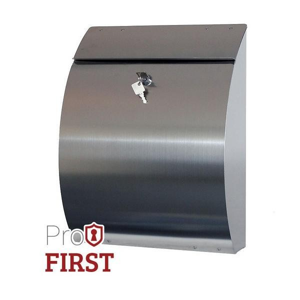 Modern Stainless Steel Post Box Pro First 210 Mailbox