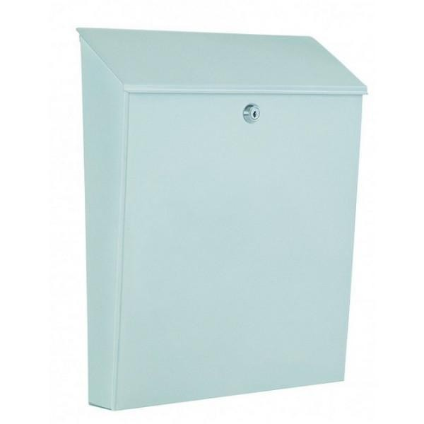 Large Capacity A4 White Modern Post Box Pro First 640