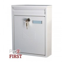 Dual Access White A4 Letter Slot Pro First 250 Post Box