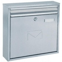 Dual Access Front and Rear Slot Post Box Stainless Steel Pro First 460