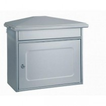 Extra Large 320 Stainless Steel Post Box