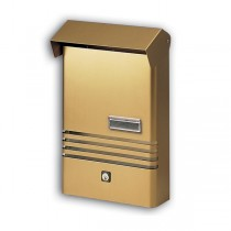 Small Stylish Post Box XE Bronze Mailbox