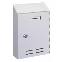 Indoor White Post Box Pro First 500 Mailbox