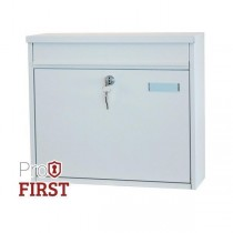 Large A4 White House Apartment Post Box Pro First 120 Mailbox
