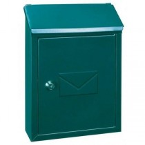 Classic Designer Green Letterbox Pro First 400 Small Post Box