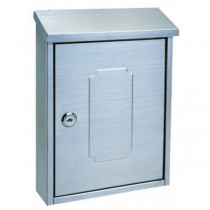 Modern Stylish Designer Post Box Pro First 160 Stainless Steel Mailbox