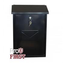 Top Loading Attractive Designer Post Box Pro First 570 Black
