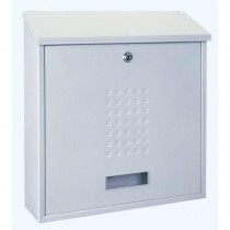 Large Modern A4 White Post Box Pro First 310 Letterbox