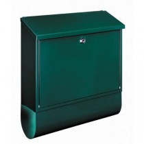 Large Capacity Green A4 Steel Post Box Newspaper holder Pro First 330