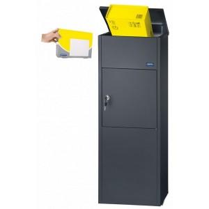Parcel Keeper Black Rottner 1000 Letterbox Safe