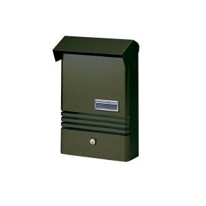 Small Stylish Post Box XE Grey Mailbox