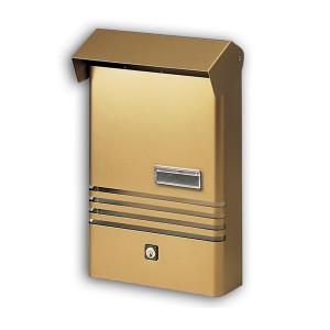 Small Stylish Post Box XE Bronze Mailbox