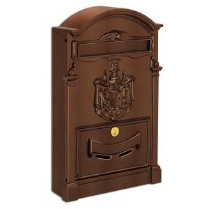 Large Traditional Post Box Rustic Aluminium Regency