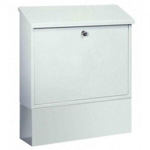 Large Post Boxes Pro First 331 Key lock Steel with Newspaper Holder